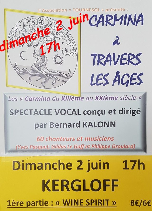 Spectacle vocal: Carmina à travers les âges